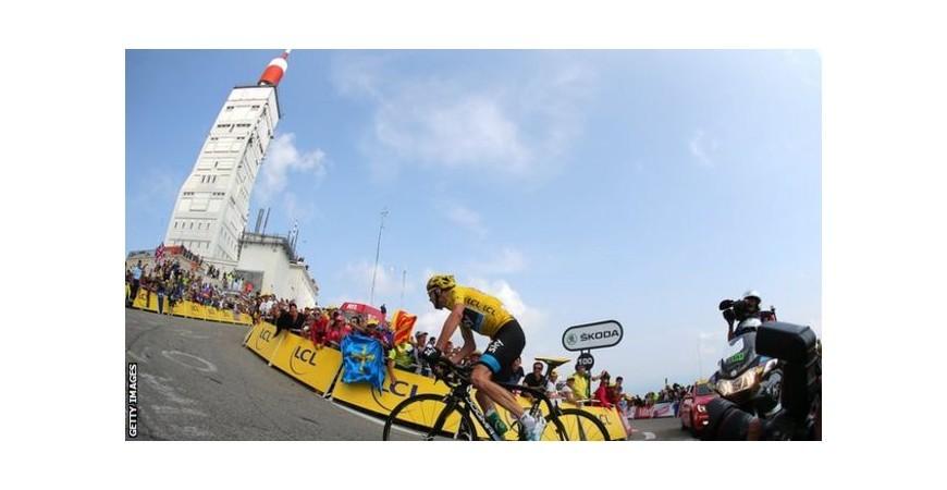 Vatios en el Tour de Francia